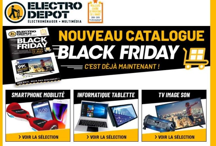 Black Friday Electro Depot