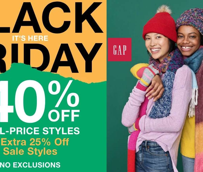 Black Friday GAP