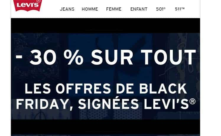 Black Friday Levi's