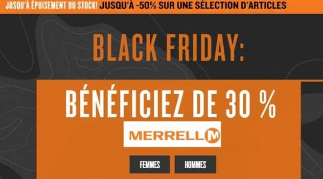 Black Friday Merrell
