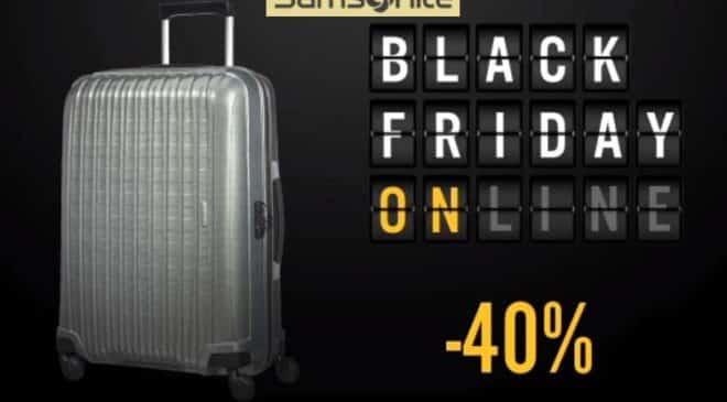 Black Friday Samsonite : 40% de remise sur 50 valises, sacs, sacs-à-dos, cartables