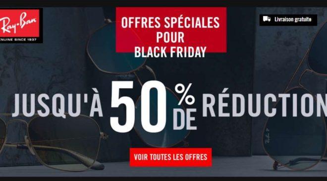 Black Friday de Ray-Ban : jusqu'à -50% sur le site officiel + livraison gratuite