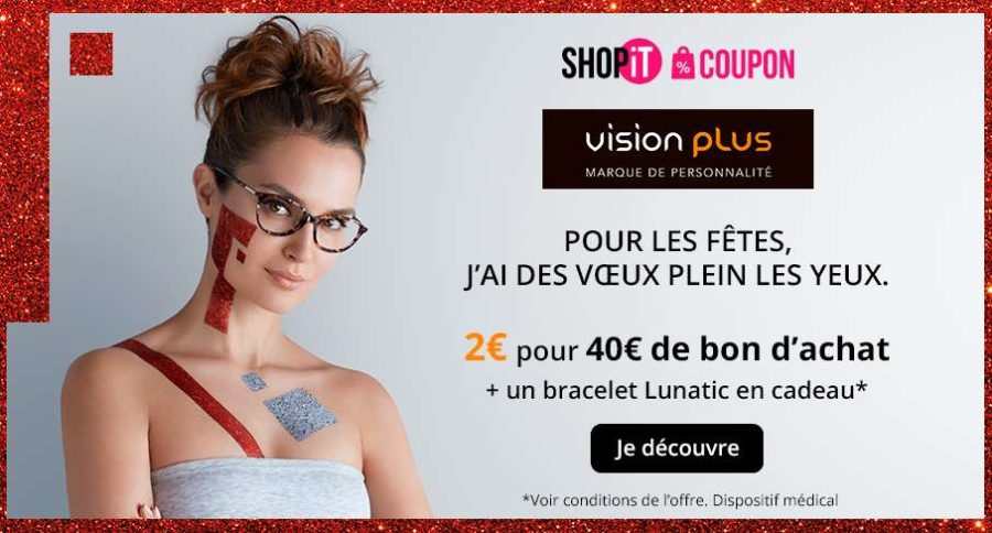 bon d achat vision plus 2 le bon d 39 une valeur de 40 bracelet gratuit. Black Bedroom Furniture Sets. Home Design Ideas