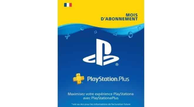 Carte 6 mois Playstation Plus pas chère