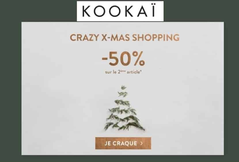 Crazy X-mas Shopping Kookai