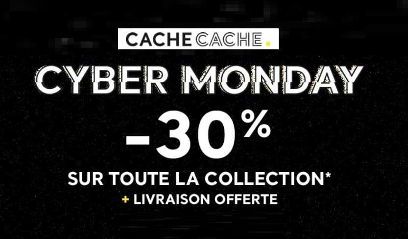 Cyber Monday - Black Friday Cache Cache