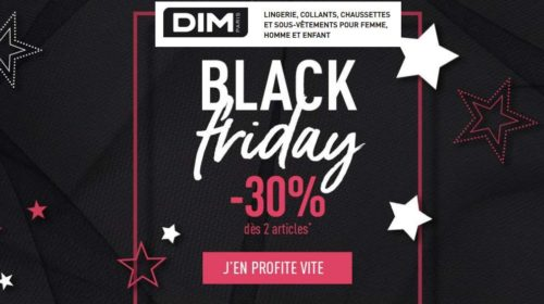Cyber Monday Black Friday DIM