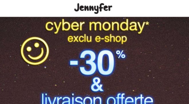 Cyber Monday Black Friday Jennyfer