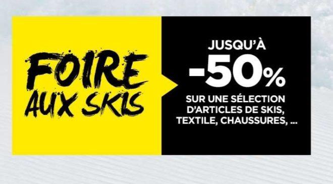 Foire aux skis Go Sport
