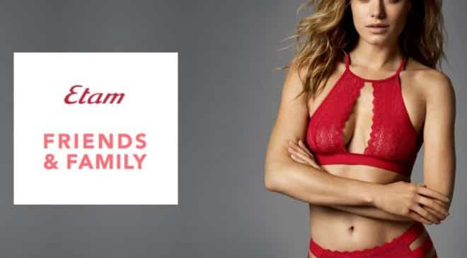 Friends & Familly Etam : remise de 30%