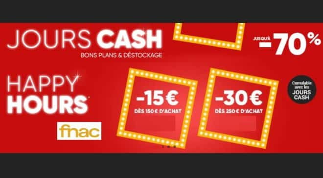 Happy Hours Fnac