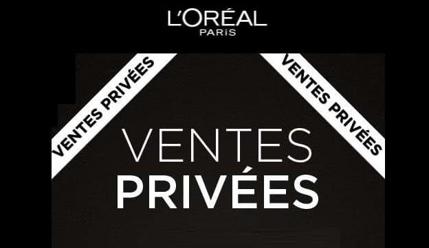 Les ventes privées L'Oréal