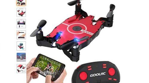 Mini-drone avec camera Wi-fi pas cher GoolRC T49