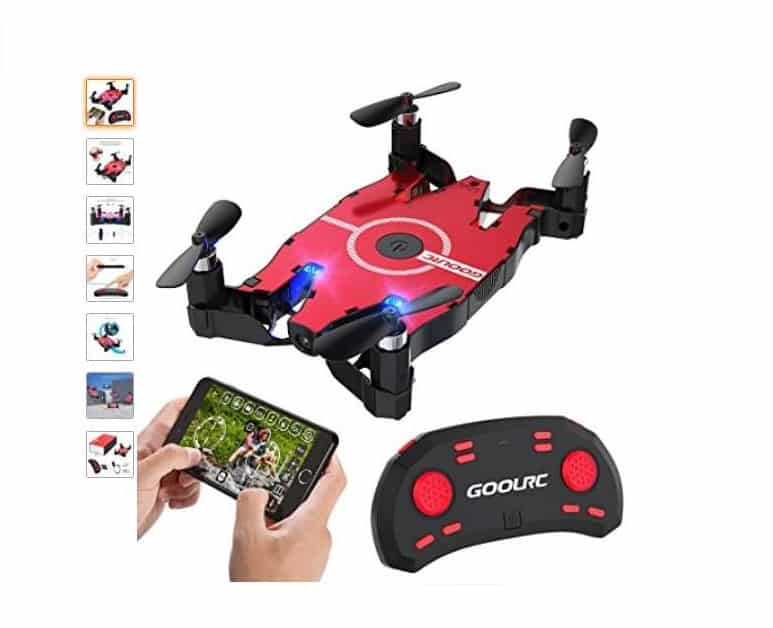 mini drone avec camera wi fi pas cher 44 99 le mini drone goolrc t49. Black Bedroom Furniture Sets. Home Design Ideas