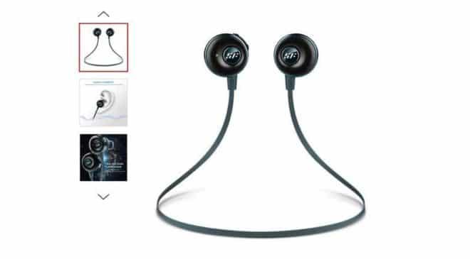 Moins de 7€ les écouteurs intra-auriculaire Bluetooth Siroflo S05