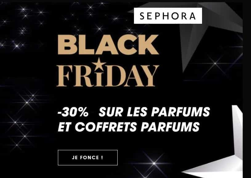 Semaine Black Friday Sephora