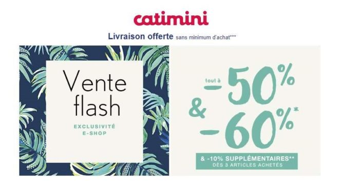 Vente flash Catimini