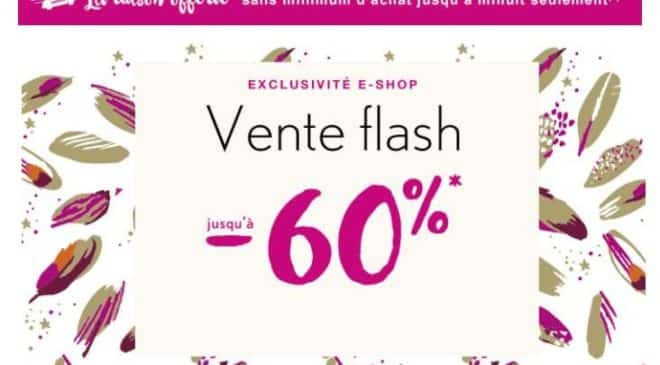 Vente flash Catimini : de -50% à -60% + livraison gratuite sans minimum