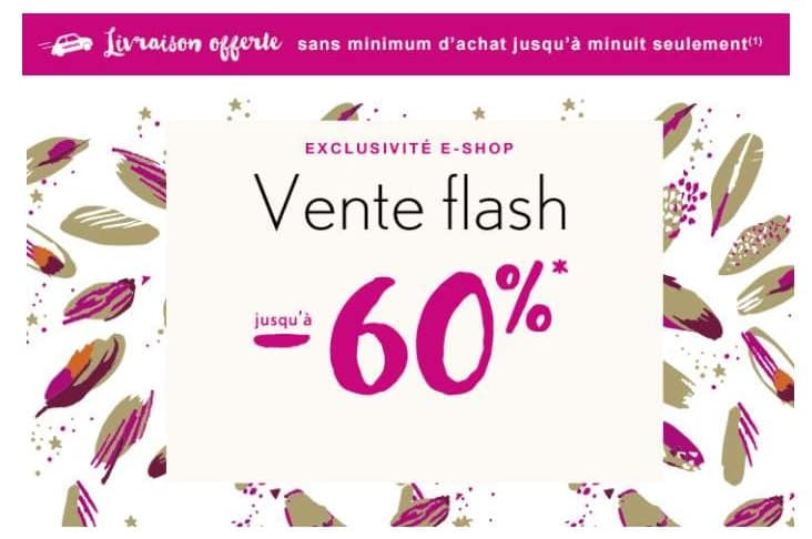Vente flash Catimini : de -50% à -60% + livraison gratuite sans minimum