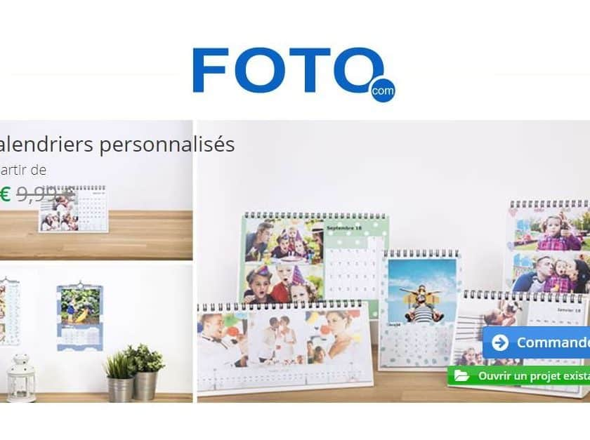 calendriers photo à moitié prix - Foto