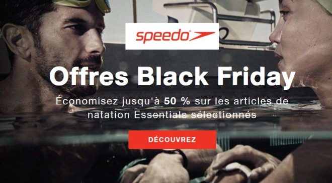 offres Black Friday Speedo