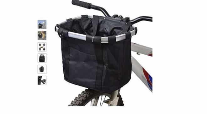 13,99€ le panier à vélo détachable (cadre alu) Docooler