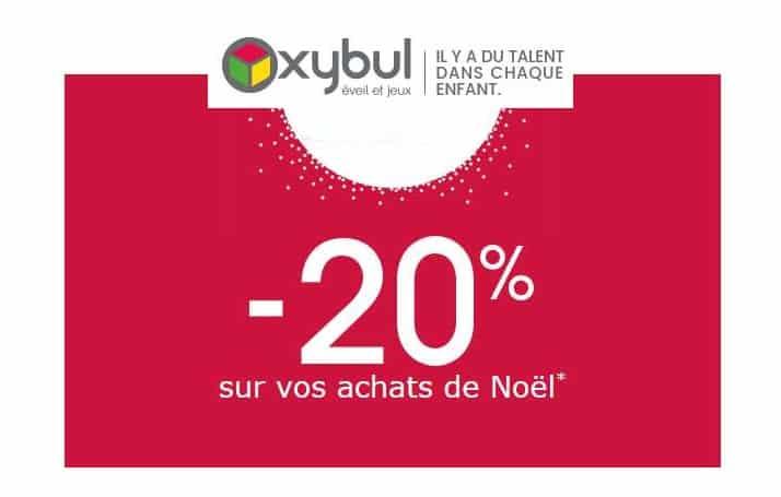 20% de remise sur vos achats Oxybul
