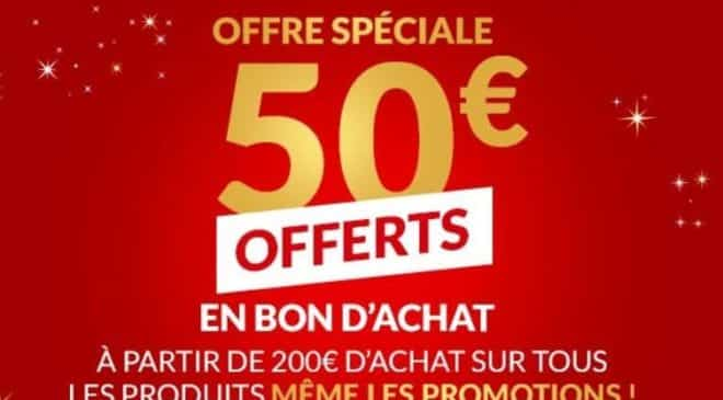 50€ offerts par BUT à partir de 200€ d'achats