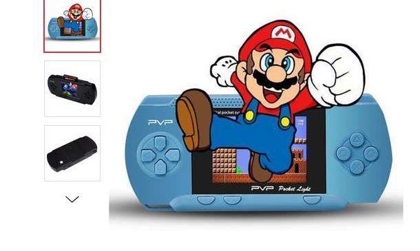 9€ la console portable avec 100 jeux PVP3000