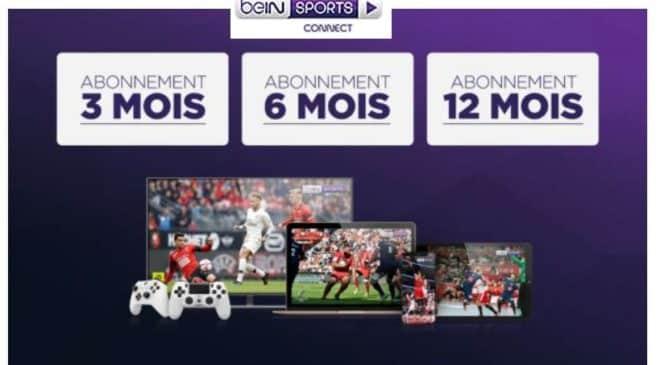 Abonnement beIN Sports Connect moitié prix
