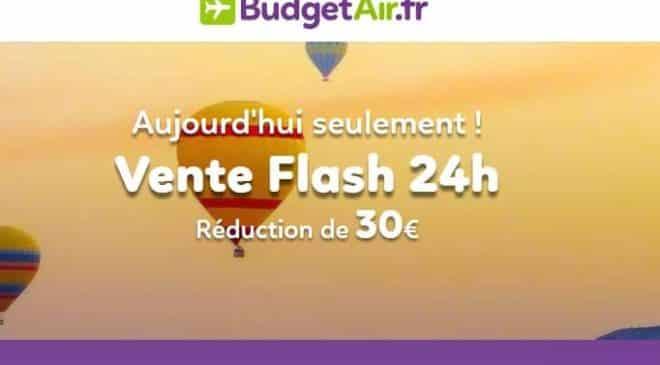 Billet d'avion moins cher : -30€ sur les billets