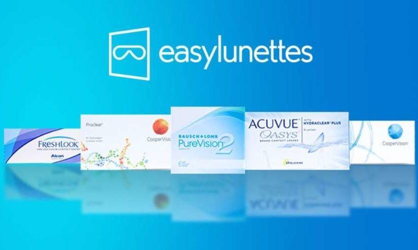 Bon d'achat lentille de contact Easylunettes