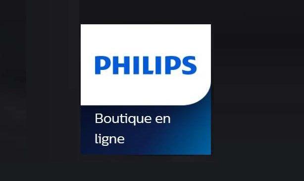 Bon plan Philips store 40% de remise