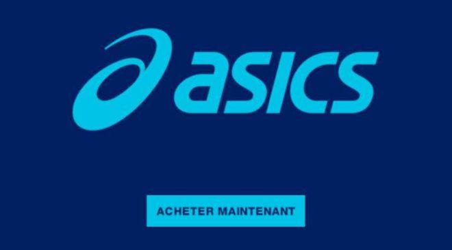 Code promo 20% de remise sur Asics