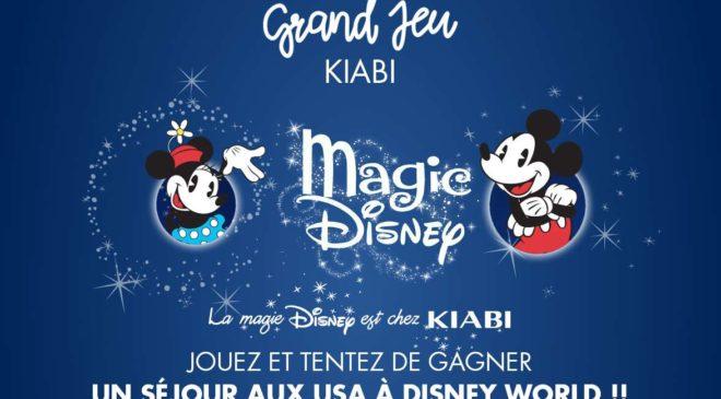Concours Magic Disney de Kiabi