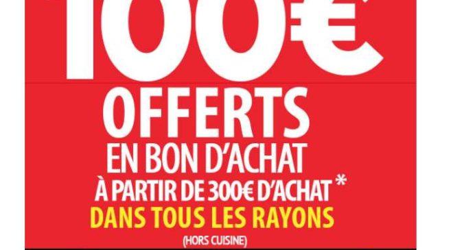 Conforama 300€ d'achats 100€ offerts en bon d'achat