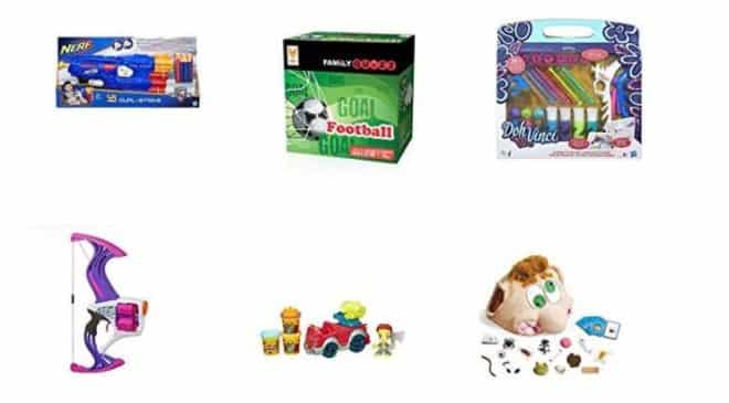 Déstockage jeux et jouets à -50% sur Amazon