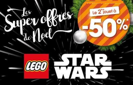 Lego Star Wars acheté second moitié prix King Jouet