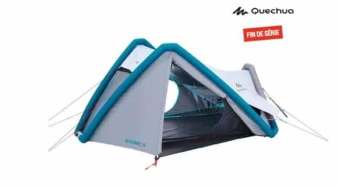 Moitié prix : 69,99€ la tente de camping Air Second 2XL Fresh&Black