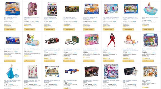 Offre jeux et jouets Amazon : -20% supplémentaire sur 90 articles (Nerf, Playmobil, Brio…).
