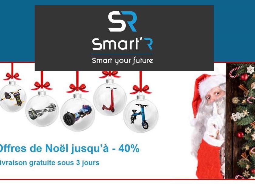 Offres Smart R : jusqu'à -40% sur les hoverboards, vélos et trottinettes électriques