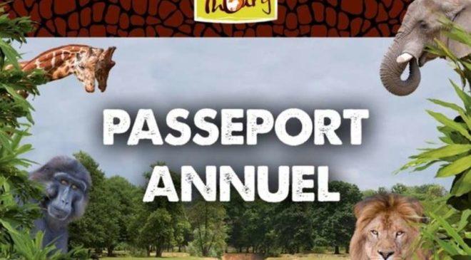 Pass premium Parc Zoologique de Thoiry 1 an moins cher