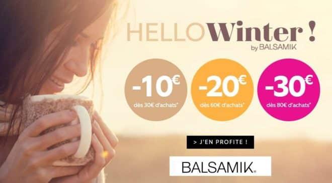 Pre-soldes de Balsamik