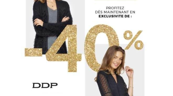 Remise de 40% sur DDP pour la Vente privée