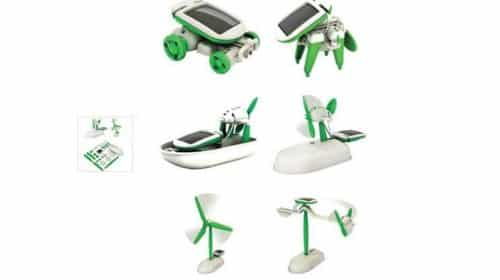 Seulement 3,40€ le kit jouet solaire à construire