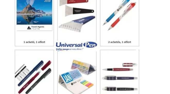 Universal Pen : livraison gratuite & déstockage