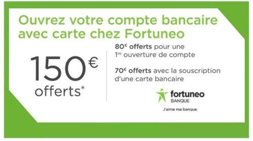 Vente privée Fortuneo 150 euros