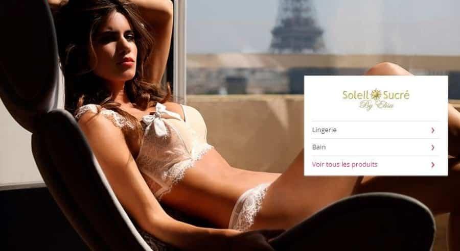 Vente priv e soleil sucr de 60 80 sur la lingerie bain - Vente privee maison deco ...