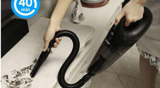 aspirateur sans fil rechargeable BESTEK à moins de 52€