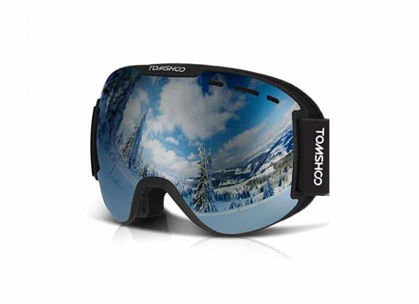 lunettes de ski antibuée - anti-UV Tomshoo